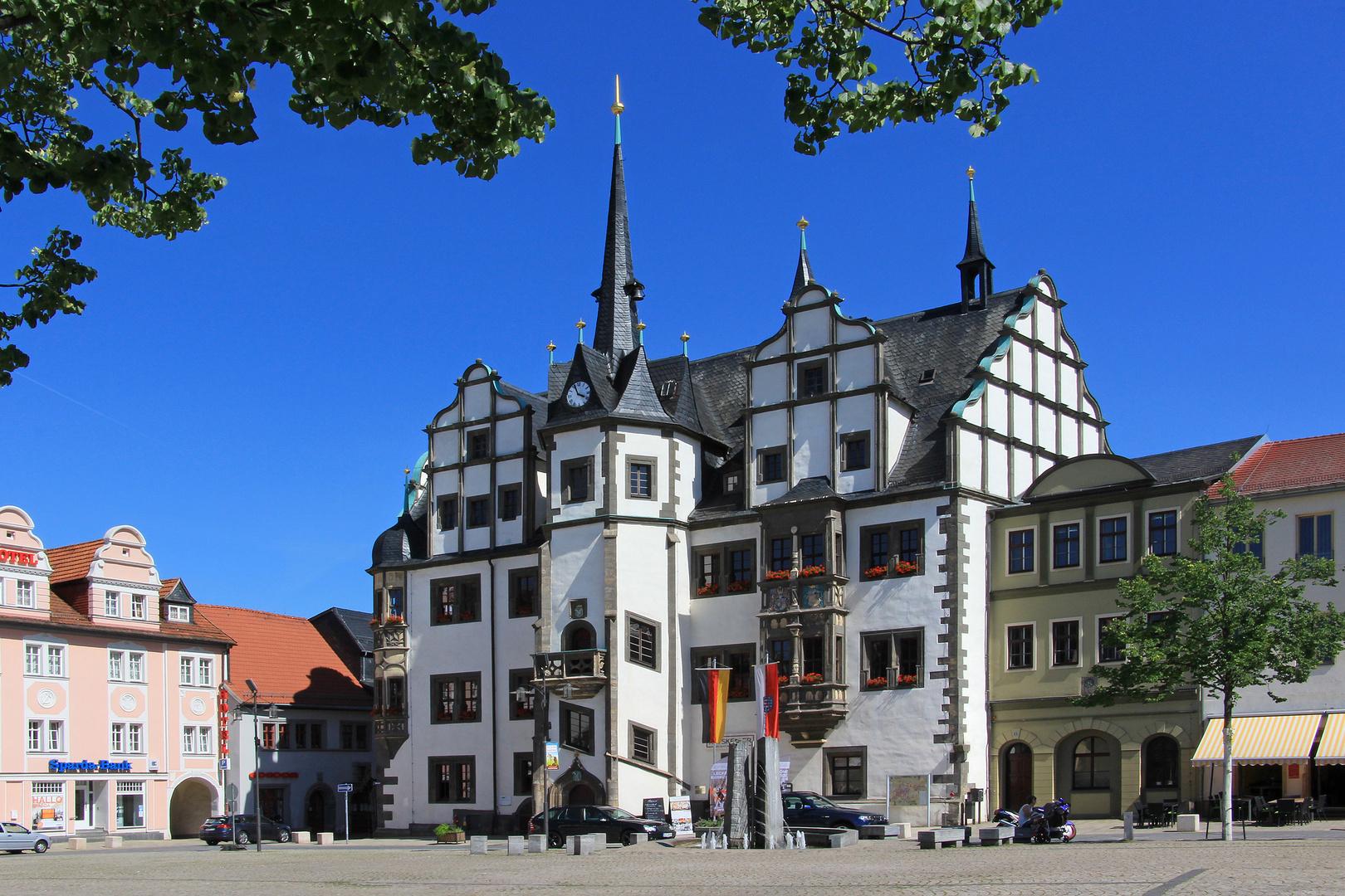 Spaziergang in Saalfeld (05) - Rathaus