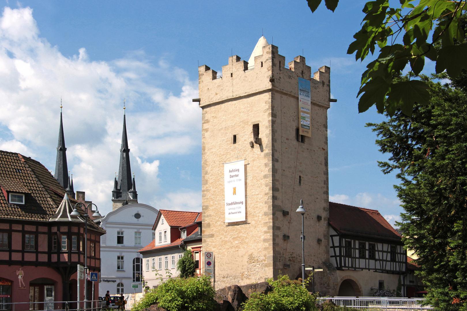 Spaziergang in Saalfeld (09) - Darrtor