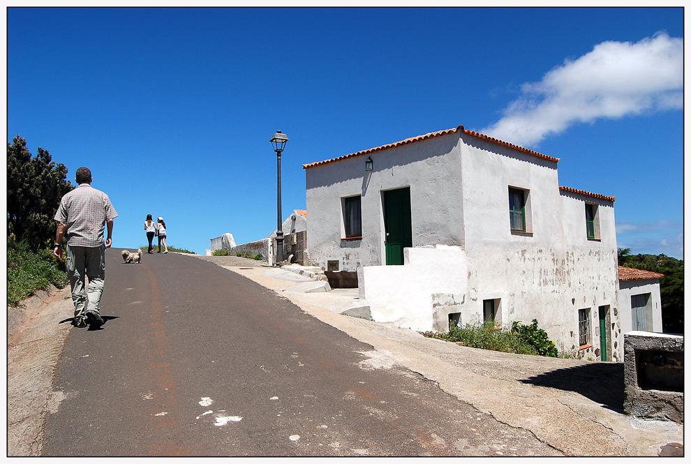 Spaziergang in Teno Alto