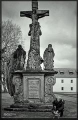 Spaziergang mit Amy, Kloster Tepla (Stift Tepl)