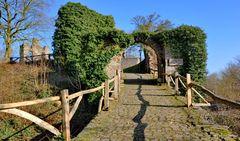 Spaziergang zur Ruine Krukenburg, Bad Karlshafen