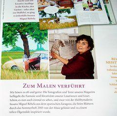 """Special mention in """"Wohnen & Garten"""""""