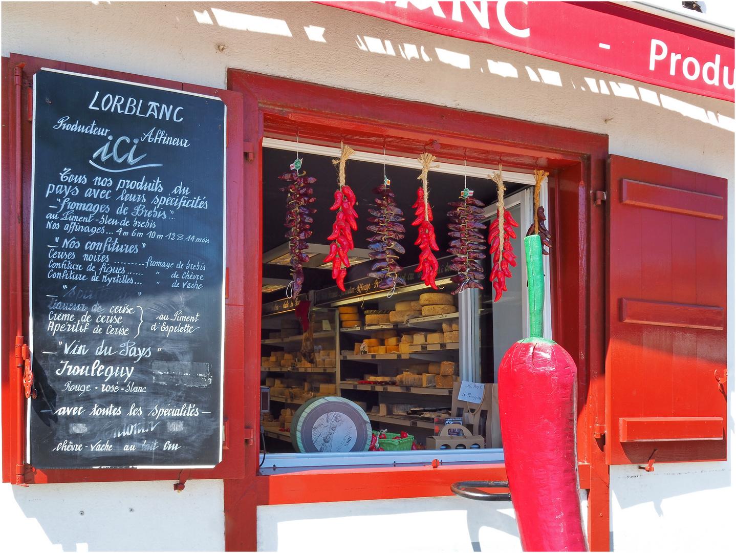 Spécialités Basques à Espelette
