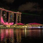 Spectra - Light & Water Show, Marina Bay, Singapur