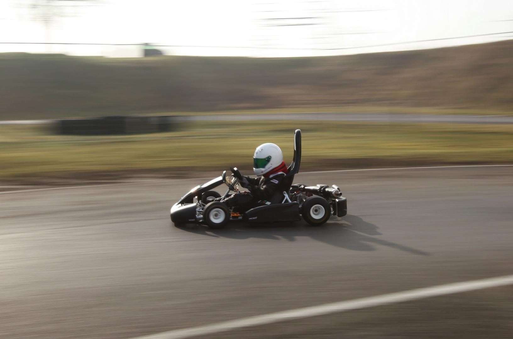 Speed - ein Zwerg im Kart