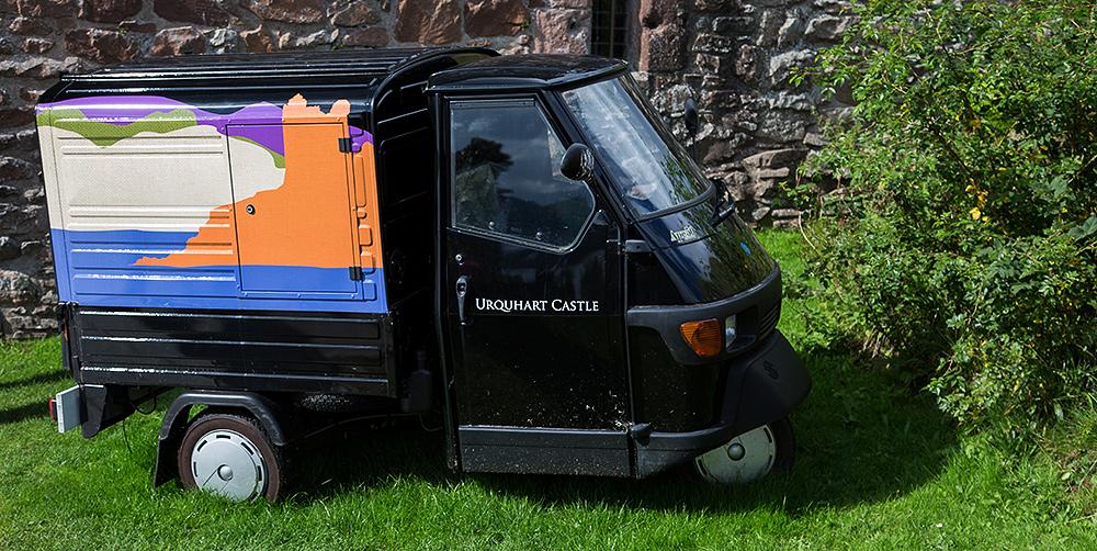 Speedmobil at Loch Ness