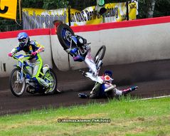Speedway Start Crash