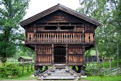 Speicherhaus aus der Telemark