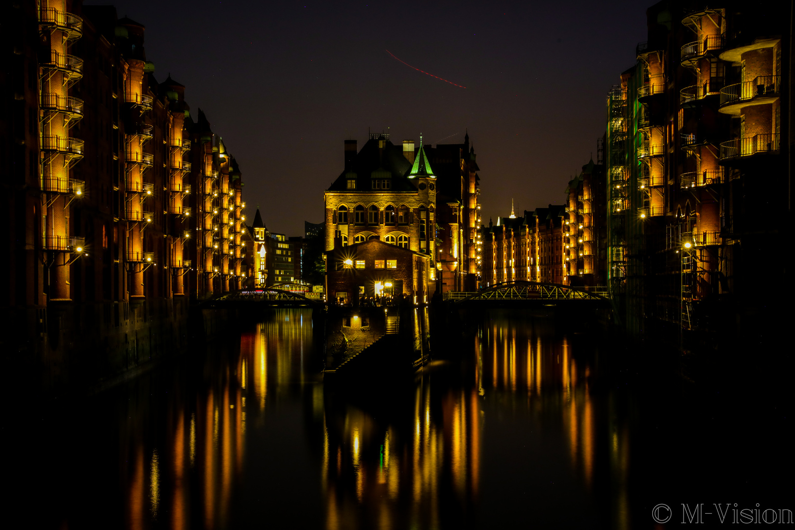 Speicherstadt at Night