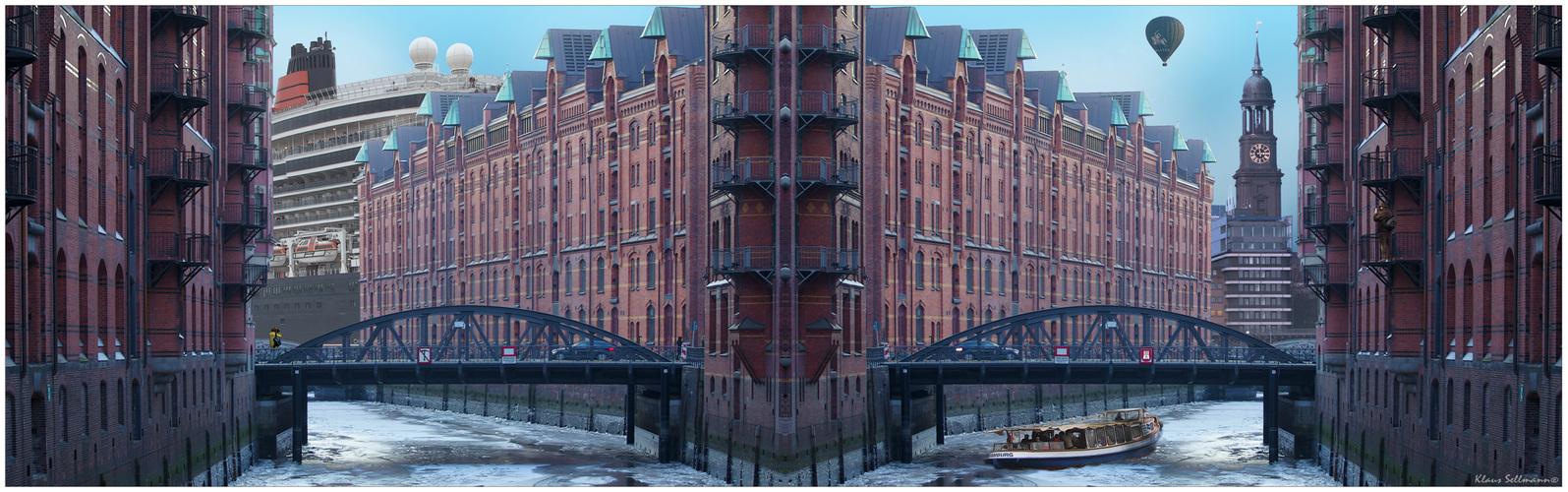 Speicherstadt-Collage