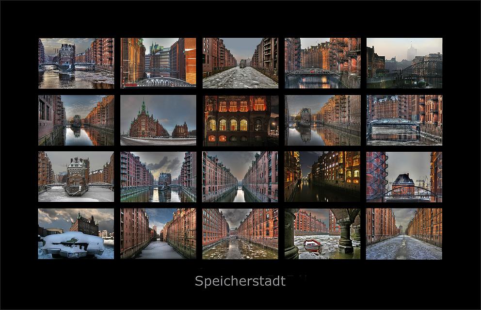 * Speicherstadt Hamburg *