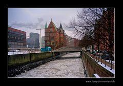 Speicherstadt im Winter