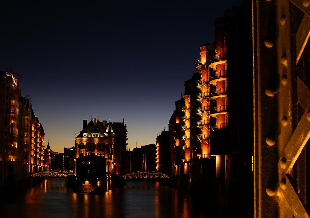 Speicherstadt in Hamburg Version 3