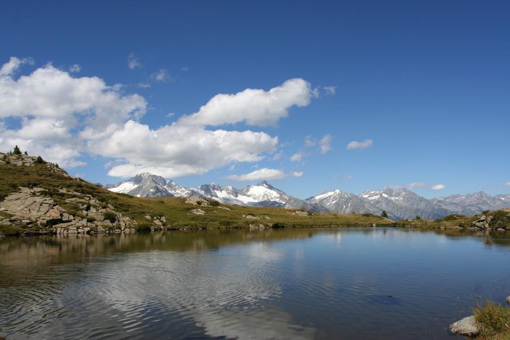 Speikboden-See mit Panorama