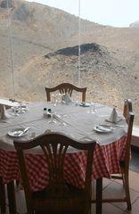 Speisen am Kraterrand