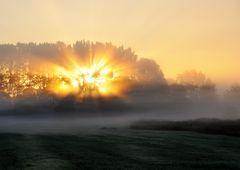 Spektakulärer Sonnenaufgang