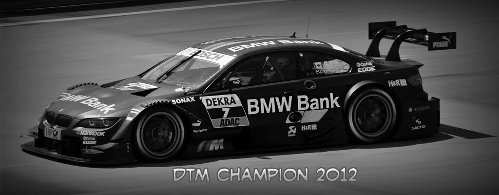 Spengler & BMW DTM Champion 2012