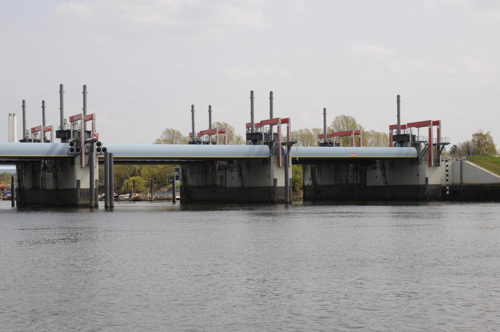 Sperrwerk Billwerder Bucht (Hamburg,Rothenburgsort)