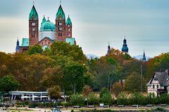 Speyer, Blick über den Rhein