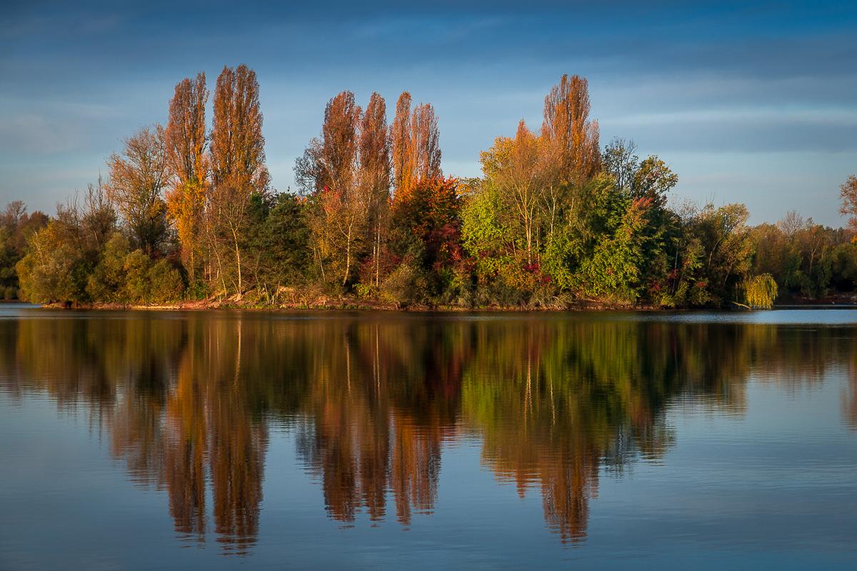 Speyer: Herbst im Spiegel