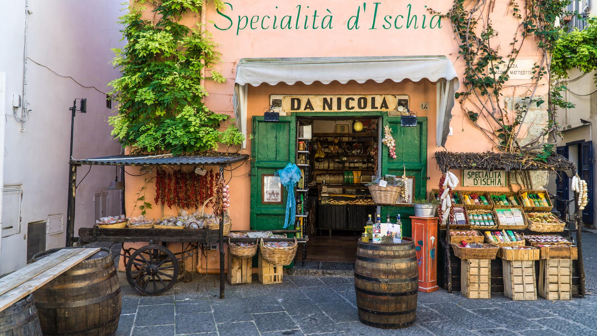 Spezialitäten aus Ischia
