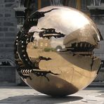 Sphere Within Sphere by Promodoro - Trinity College Dublin - Ireland
