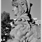 Sphinx am Monnemer Wasserturm