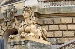 Sphinx am Wasserturm Mannheim