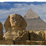 Sphinx & Pyramiden