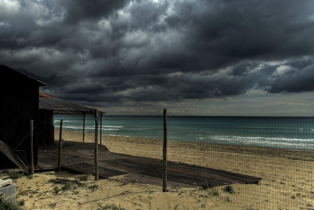 Spiaggia d'inverno