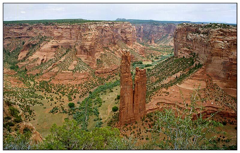 Spider-Rock im Canyon De Chelly - Arizona, USA