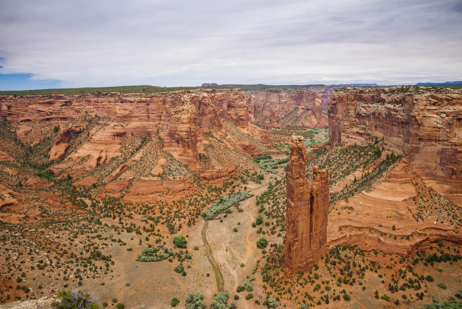 Spider Rock im Canyon de Chelly