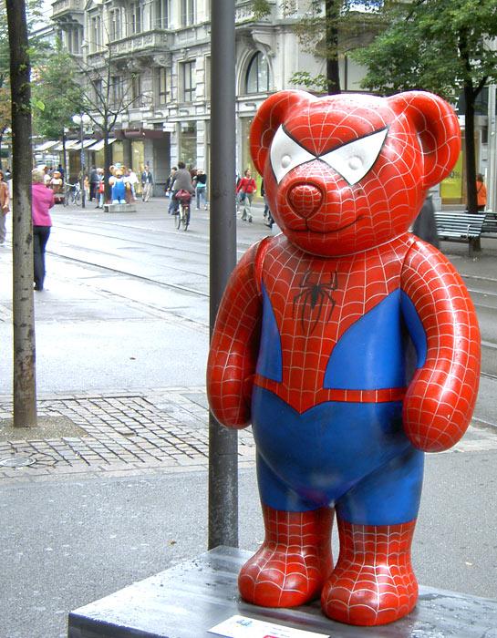 Spiderman at Zuerich