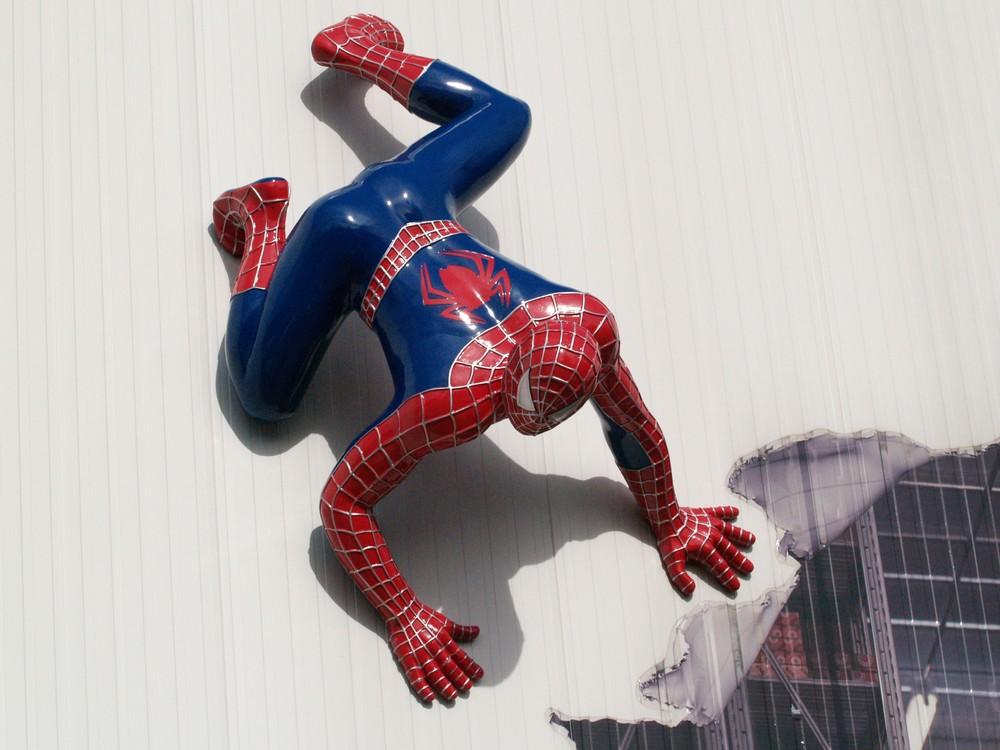 Spiderman in Bargteheide