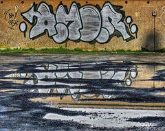 SPIEGEL AM Dienstag ......(Graffiti SPIEGEL )