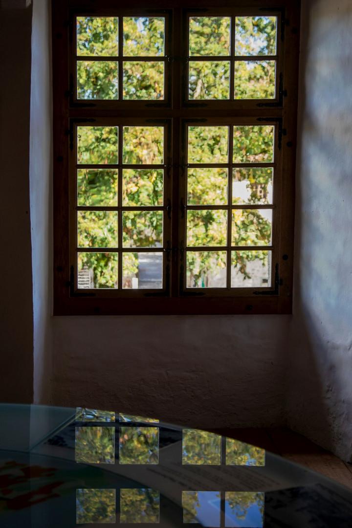 Spiegel das Schlossfenster