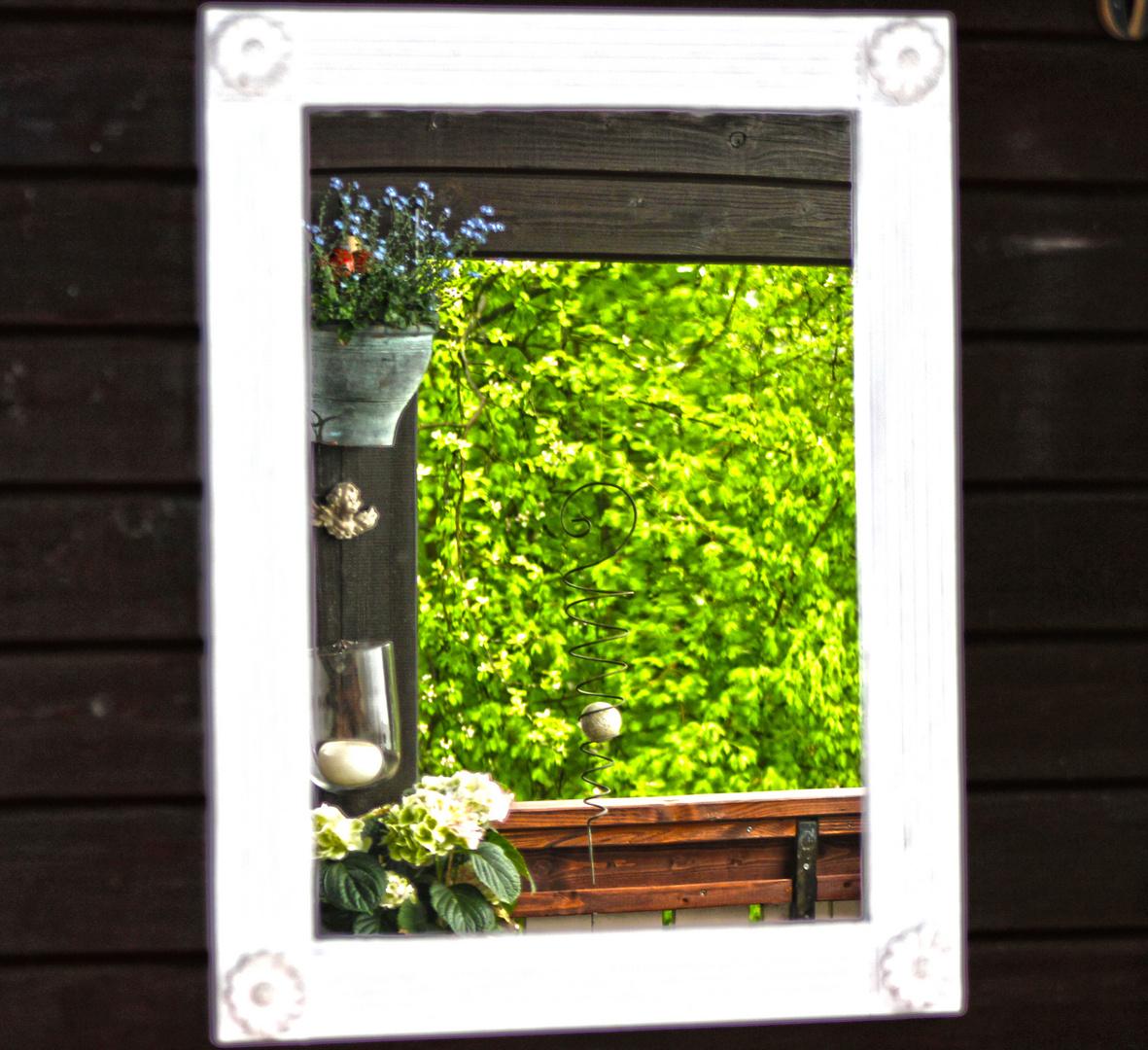 Spiegel im Rahmen? ~ Foto & Bild | projekte, kreativ- projekte ...