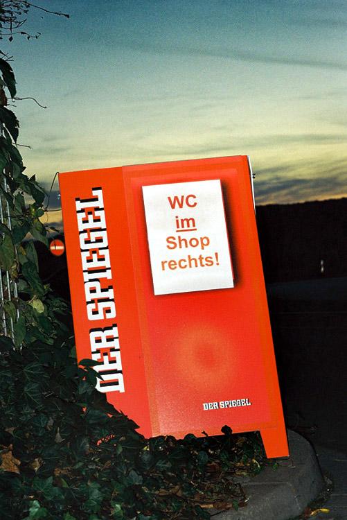 """""""Spiegel-Leser pissen mehr!"""""""