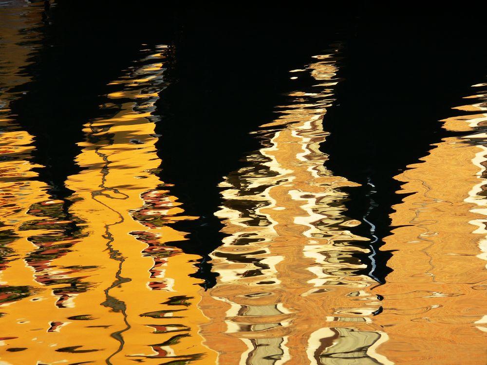 spiegelArt 12 (Gondeln in Venezia)