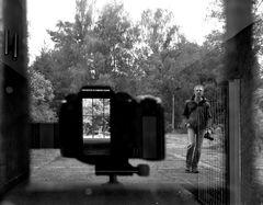 Spiegelbild mit Durchblick