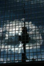Spiegelbild vom Berliner Fernsehturm