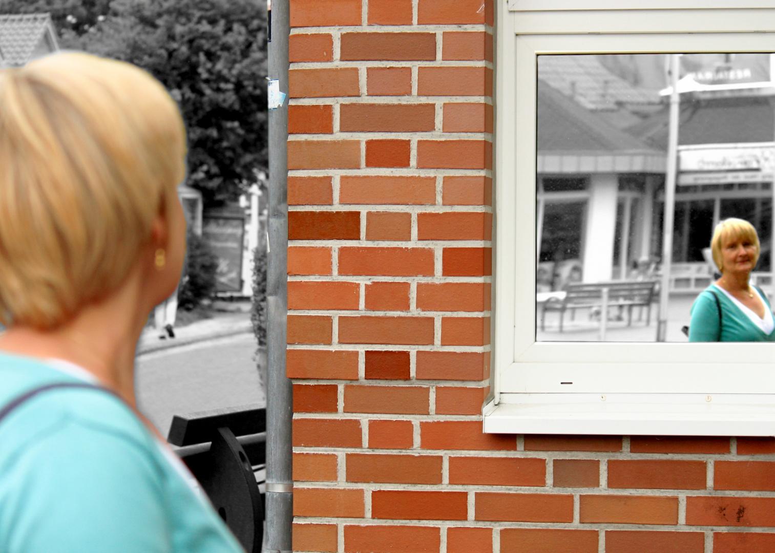 Spiegelbild von Martina