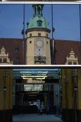 Spiegelbilder in Leipzig