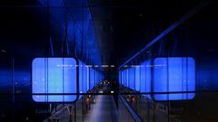 Spiegelei im U-Bahnhof
