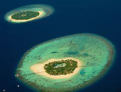 Spiegelei Insel  - Malediven  -