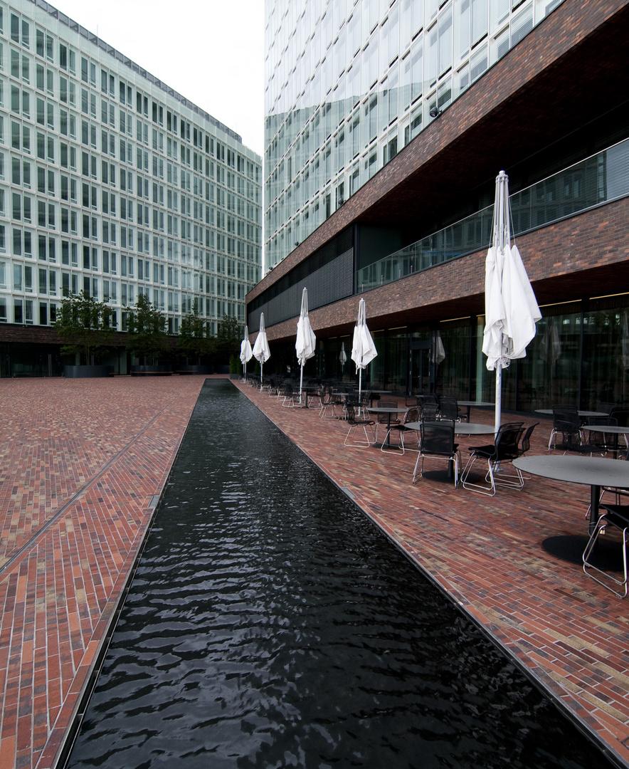 Spiegelgebäude in Hamburg