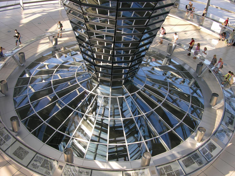Spiegelkuppel - Reichstag Berlin