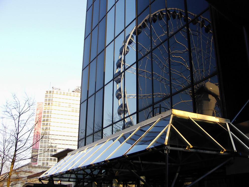 Spiegellungen, Riesenrad in Birmingham 2