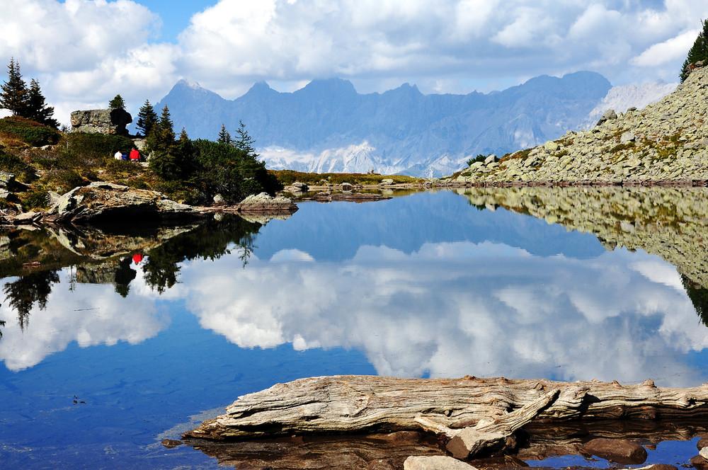 Spiegelsee auf der Reiteralm ( Schladminger-Tauern)