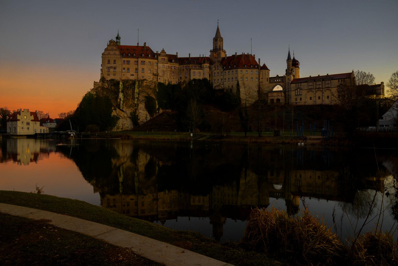 Spiegeltag: Abend am Schloss Sigmaringen